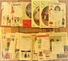 Doll Clothing Patterns Lot - $11.11