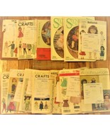 Doll Clothing Patterns Lot - €9,31 EUR