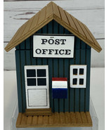 Musical Wooden Post Office Box Plays Long & Winding Road Vintage TESTED ... - $16.69