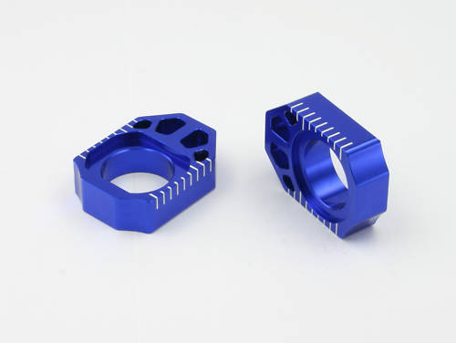 Zeta Axle Blocks Chain Adjuster KX125 KX250 KX250F KX450F RMZ250 RMZ450 KX RMZ