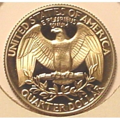 1980-S Proof DCAM Washington Quarter PF65 #461