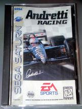 SEGA SATURN - EA SPORTS - Andretti RACING (Complete with Instructions) - $8.50
