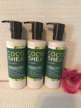 3 Bath & Body Works COCO SHEA Cucumber Body Lotion Seriously Soft Full Size - $35.34