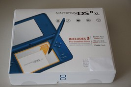 Nintendo DSi XL Launch Edition Blue Wi-Fi Handheld Game System Video Cam... - $239.99