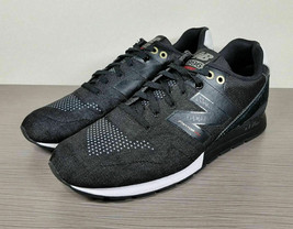 New Balance '996 Re-engineered' Sneaker, Black Suede & Mesh, Mens Size 1... - $50.39
