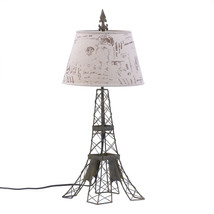 Art Table Lamp, Parisian Rustic Small Table Lamps Living Room Bedroom - €58,07 EUR