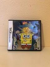 Video Game Nintendo DS Spongebob Squarepants Atlantis 2007 Replacement Case - $9.90