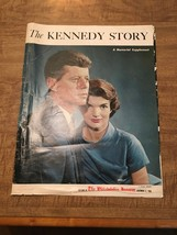 """The Kennedy Story"" From 1963 Memorial Supplement Of The Philadelphia In... - $7.91"