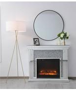 Mid Century Modern Farmhouse Industrial Brass or Black Floor Lamp XL Lin... - $178.00