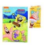 Spongebob Coloring Book with Curly Candy Cane - $14.56