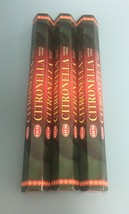 Hem Citronella 3 Packs x 20 Incense Sticks (60 Sticks in Total) - $6.95