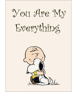 """Charlie Brown Collectible Peanuts """"You Are My Everything"""" Stand-Up Display  - $15.99"""