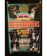 San Antonio Spurs NBA Finals 1999 Full Size Poster 6628 HTF - $24.26