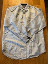 Mens Tommy Jeans Button Down Shirt Size Large 0104 - $27.02