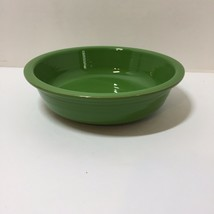 "Coupe Cereal Bowl Shamrock Green Homer Laughlin Fiesta Lead Free 7"" - $9.74"