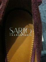 Franco Sarto Damen Neu Burgunder Leder/Wildleder Oberseite Anzug Schuhe Größe:6 image 7