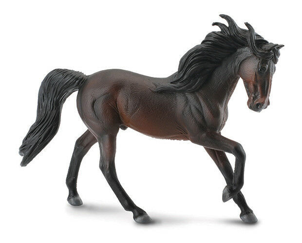 Primary image for <>< Breyer CollectA 88463 Andalusian Bay stallion horse exceptional stunning