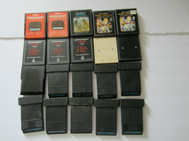 Lot of 20 Atari 2600 Games Not Working/Untested As Is For Parts Defender Combat - $28.49