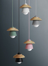 Novelty Macaron Color Pendant E27 Light Ceiling Lamp House Lighting Fixt... - $68.00