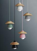 Novelty Macaron Color Pendant E27 Light Ceiling Lamp House Lighting Fixt... - $68.00