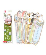 [School Supplies] 30pcs Japanese Anime Cute Cat Bookmark Index for Book/... - $119,53 MXN
