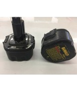 9.6V Battery for DEWALT DW9062 lot of two Sold as not working - $18.69