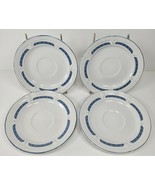 """4 Vintage Home Style Country Goose Geese Stoneware China 6.5"""" Plates - $19.97"""