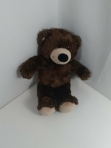 Build A Bear BAB Bear Dark Brown Plush 15 Inch - $9.90