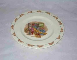 "Neat 8"" Royal Doulton BUNNYKINS Child's Plate So Cute - $48.19"