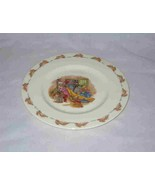 "Neat 8"" Royal Doulton BUNNYKINS Child's Plate So Cute - $48.19"