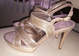 PRE sz OWNED Sandal Papell Ansel 8 Dress Women's Adrianna w0q56gxx