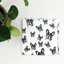 "French Bulldog Organic Cotton Swaddle Blanket 35x35"" - $71.62"