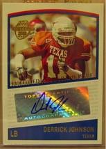 2005 Topps Autogramme # Tdj Derrick Johnson G - $19.48
