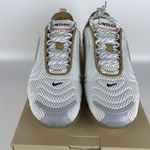 Nike Air Max 720 Running Shoes 10.5 White/Pale Vanilla CI6393 100 image 3