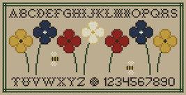 Seven Sisters Garden Samplers PDF cross stitch chart John Shirley new designer - $7.00