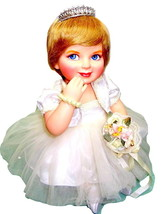 Franklin Mint Princess Diana Precious in Pearls Porcelain Baby Doll +Acc... - $149.95
