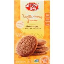 Enjoy Life Cookie - Crunchy - Vanilla Honey Graham - Gluten Free - 6.3 o... - $39.81