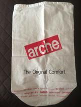 ARCHE Paris Cream Linen Cotton Lightweight Travel Bag Backpack Shoe Dust... - €11,41 EUR