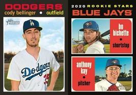 Pre-Sell 2020 Topps Heritage Minnesota Twins Base Team Set Baseball Cards - $3.99