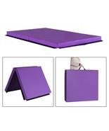 "6'x3'x4.5""  Folding Exercise Mat Panel Gymnastics Tumbling Thick Gym Fit... - $124.99"