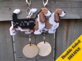Basset Hound Deluxe crate tag, hang anywhere, a... - $24.00