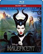 Disney Maleficent (Blu-ray/DVD, 2014, 2-Disc Set)