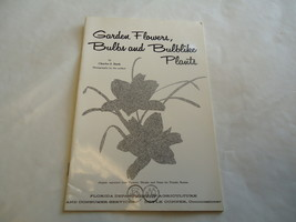 Garden Flowers Bulbs & Plants 1956 Florida Department Of Agriculture C. ... - $0.99