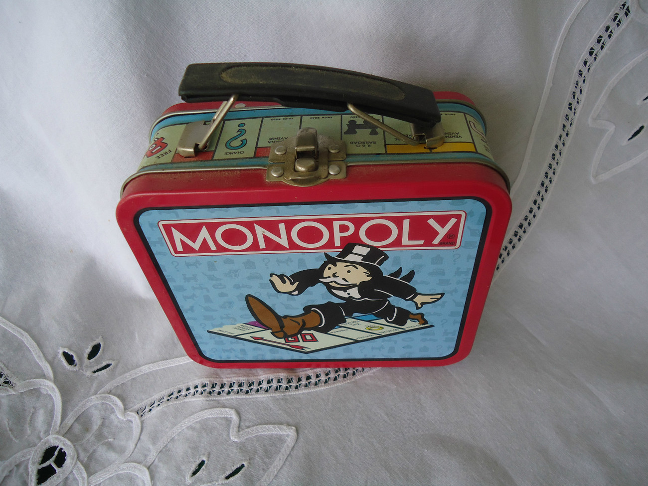 Primary image for Monopoly Mini Metal Lunchbox 1997 Hasbro  VG  Condition