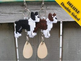 Boston Terrier Deluxe crate tag 2 sided, decor dog ornament, choose your color - $16.00