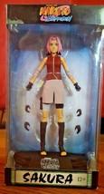 McFarlane Toys Naruto Shippuden Sakura Action Figure w stand Color Topps... - $19.99