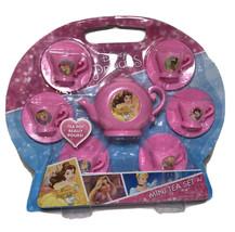 Disney Princess 13 Pcs Mini Tea Set Pretended Play Cup Saucer Toy - $10.06