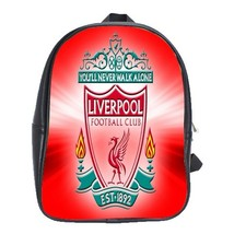 Backpack School Bag Liverpool FC Logo Football Team Sports Editions In Red Desig - $33.00