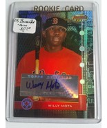2005 Bowman's Best #123 Willy Mota FY AU RC : Boston Red Sox - $3.33