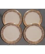 Set (4) Lenox TUSCANY PATTERN Salad Plates MADE IN USA - $89.09